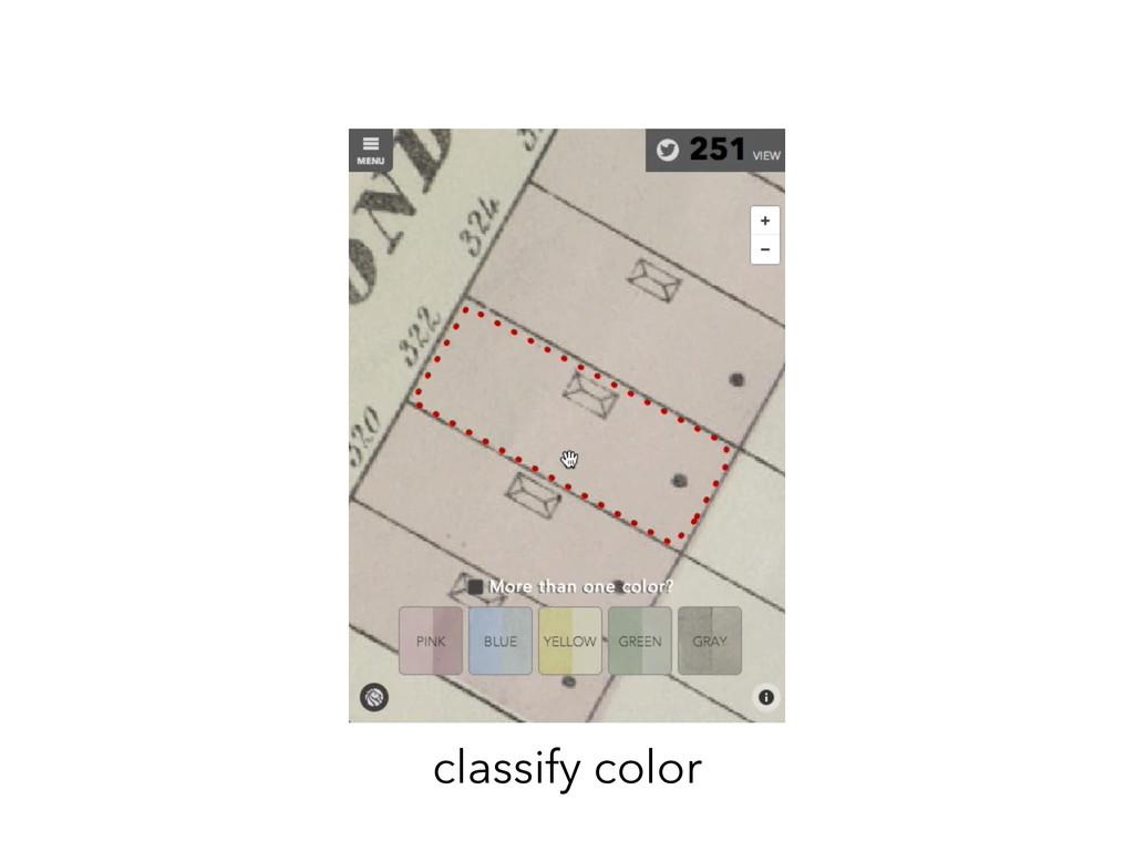 classify color
