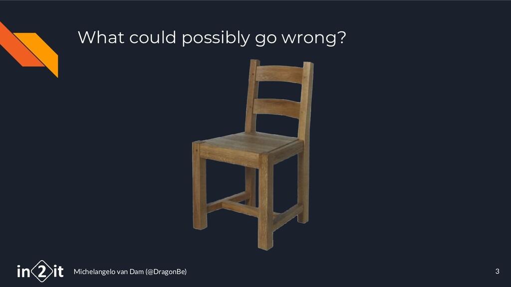 Michelangelo van Dam (@DragonBe) 3 What could p...