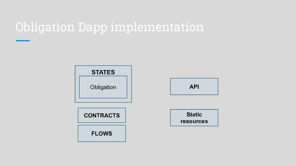 Obligation Dapp implementation FLOWS CONTRACTS ...