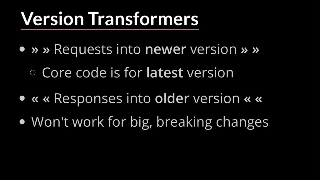 Version Transformers » » Requests into newer ve...