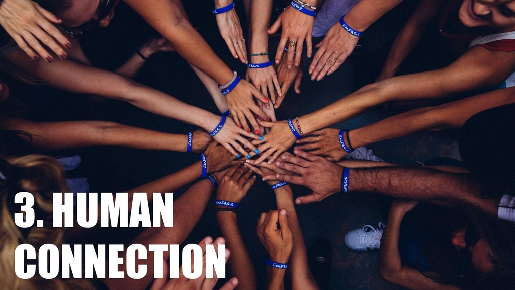 3. HUMAN CONNECTION