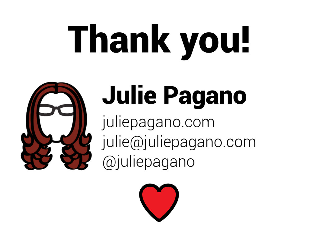 Julie Pagano juliepagano.com julie@juliepagano....