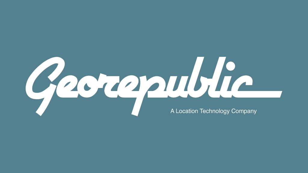 A Location Technology Company