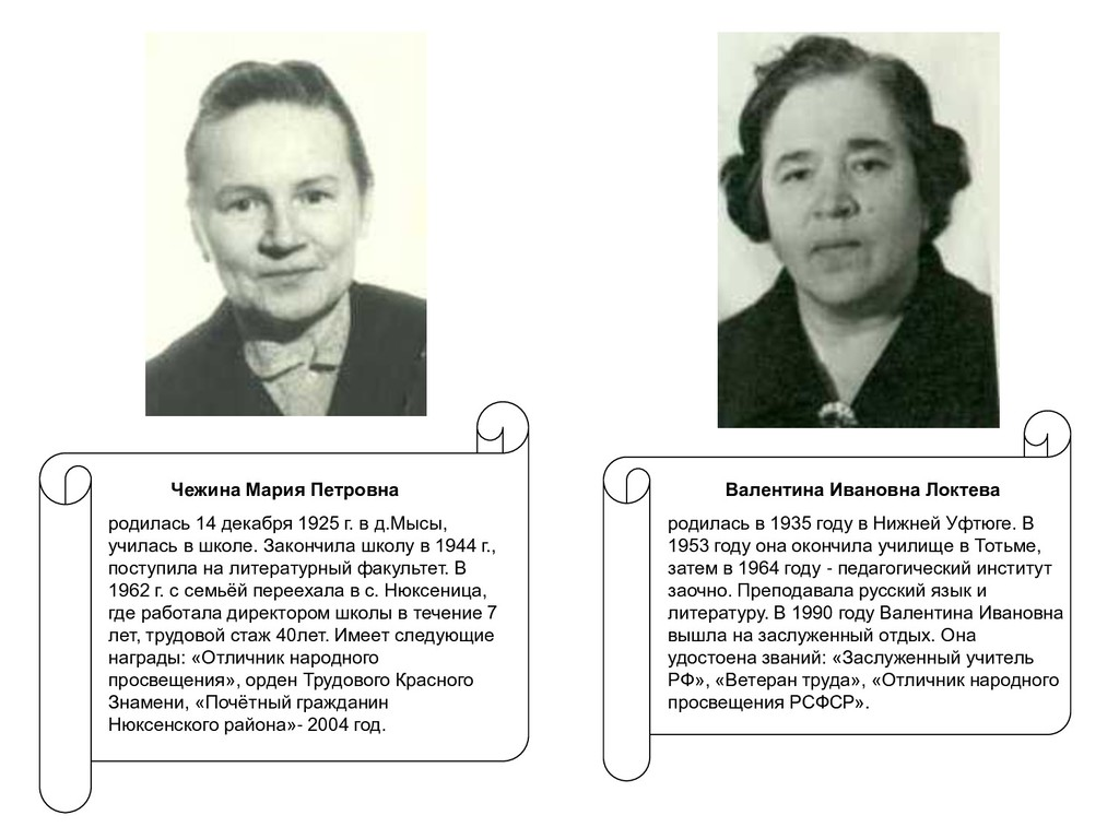 Валентина Ивановна Локтева родилась в 1935 году...