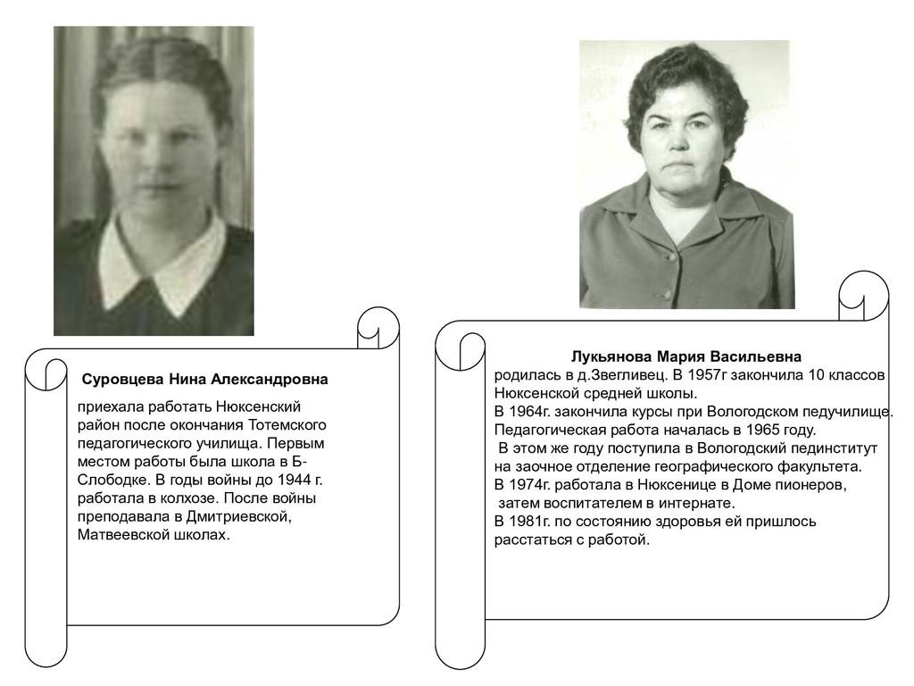 Лукьянова Мария Васильевна родилась в д.Звеглив...