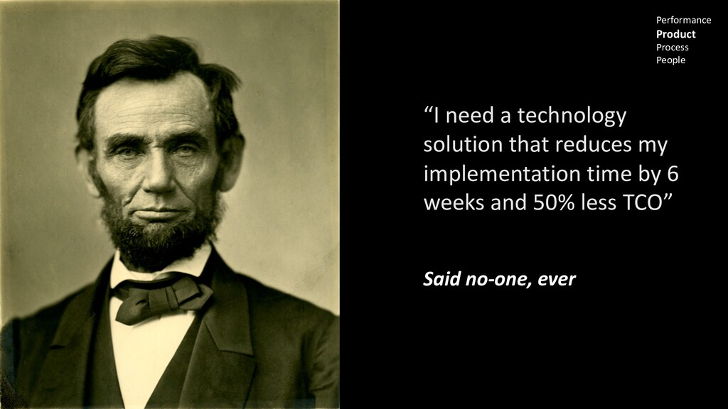 """""""I need a technology solution that reduces my i..."""