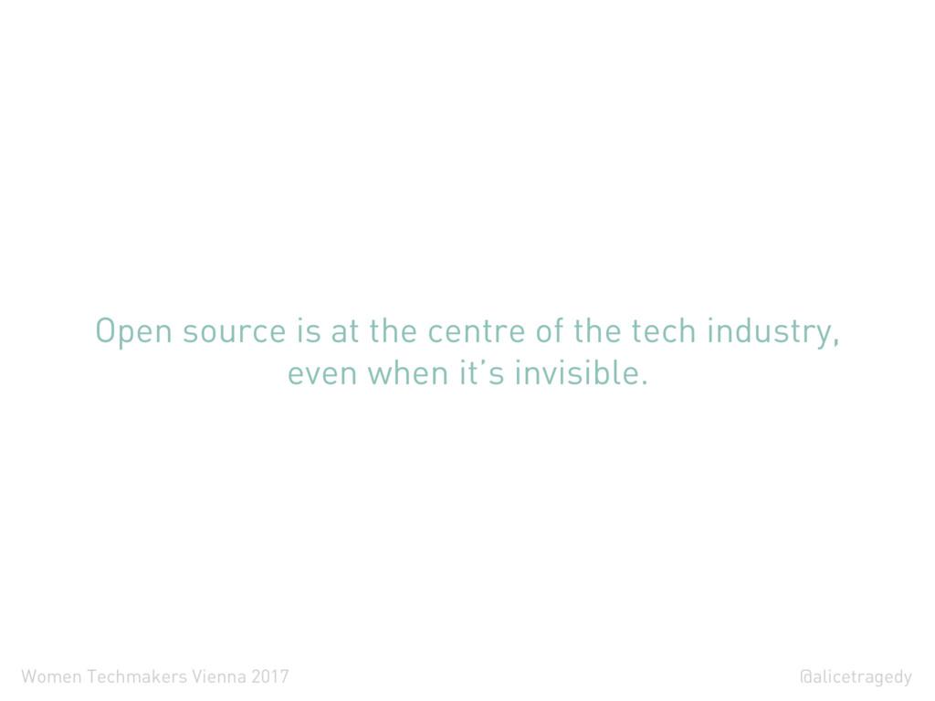 @alicetragedy Women Techmakers Vienna 2017 Open...
