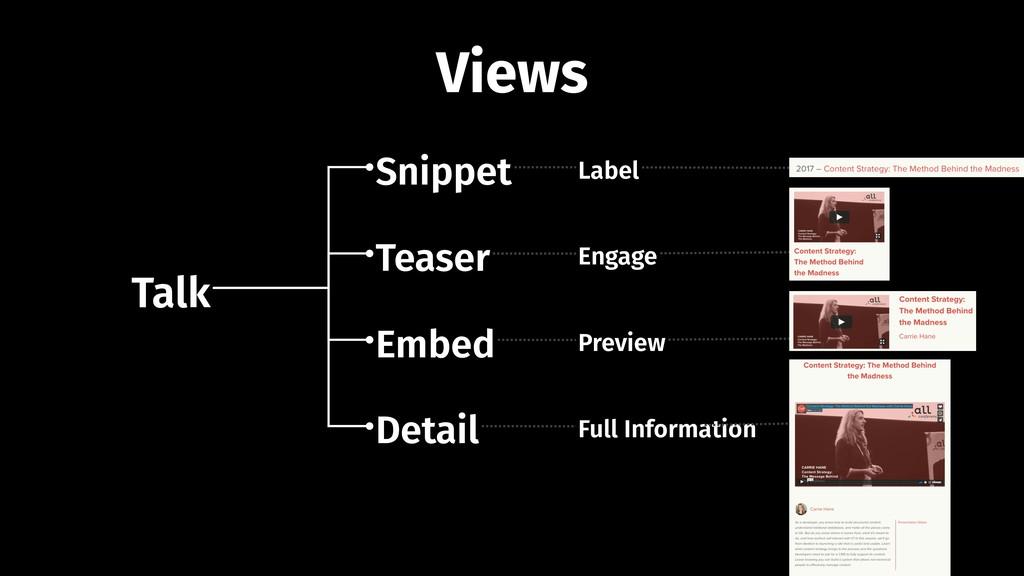 Talk Snippet Teaser Embed Detail Label Engage P...