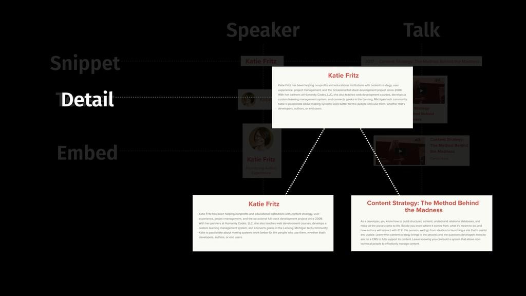 Snippet Teaser Embed Speaker Talk Detail