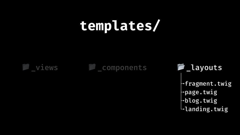 templates/ fragment.twig blog.twig page.twig _l...