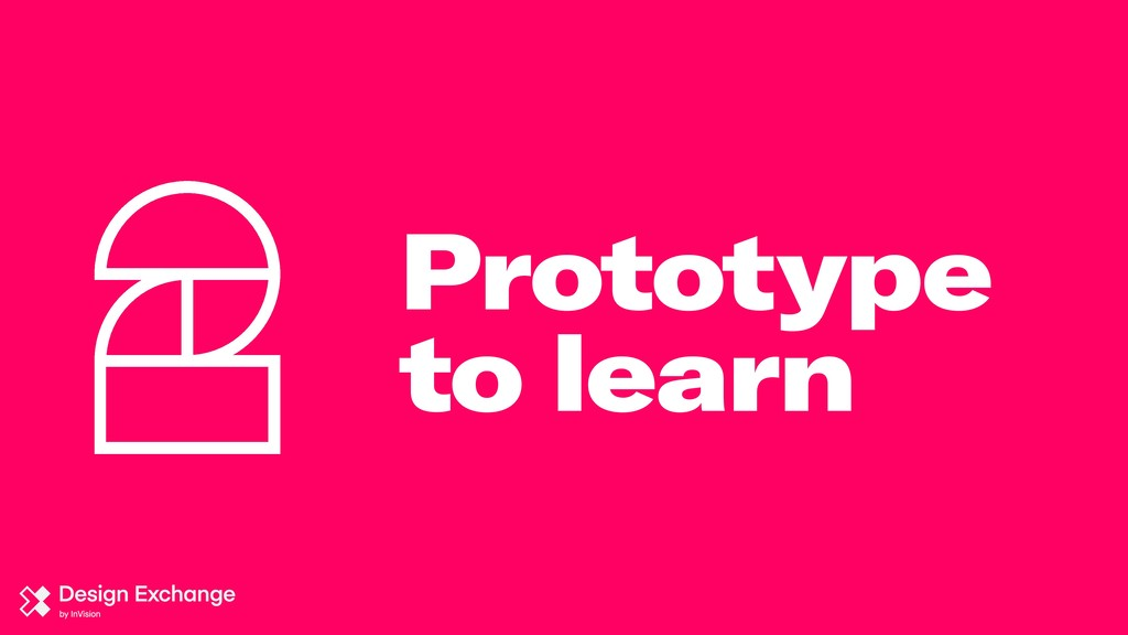 Prototype to learn