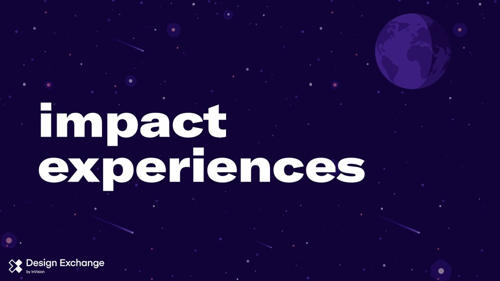 impact experiences