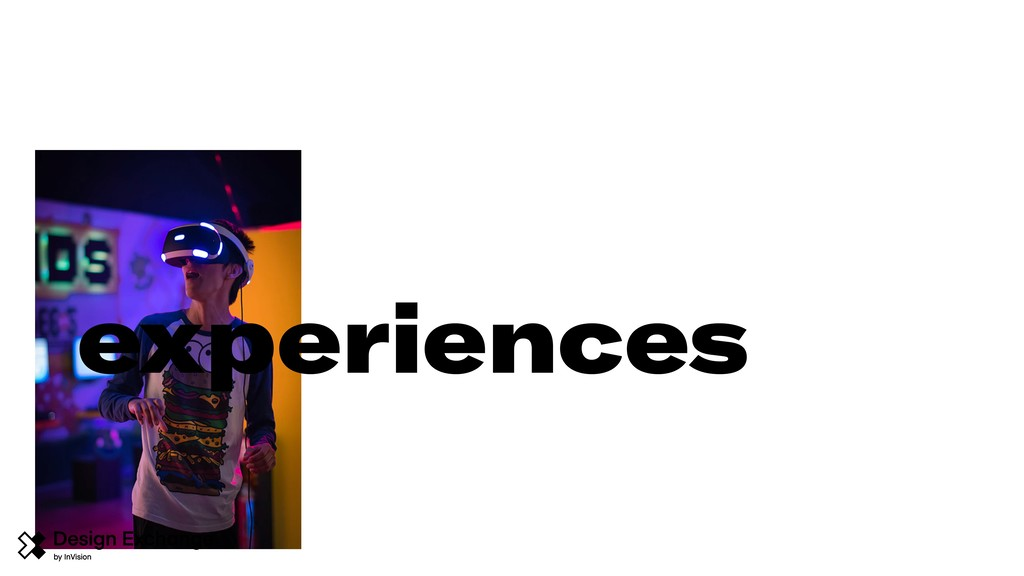 experiences