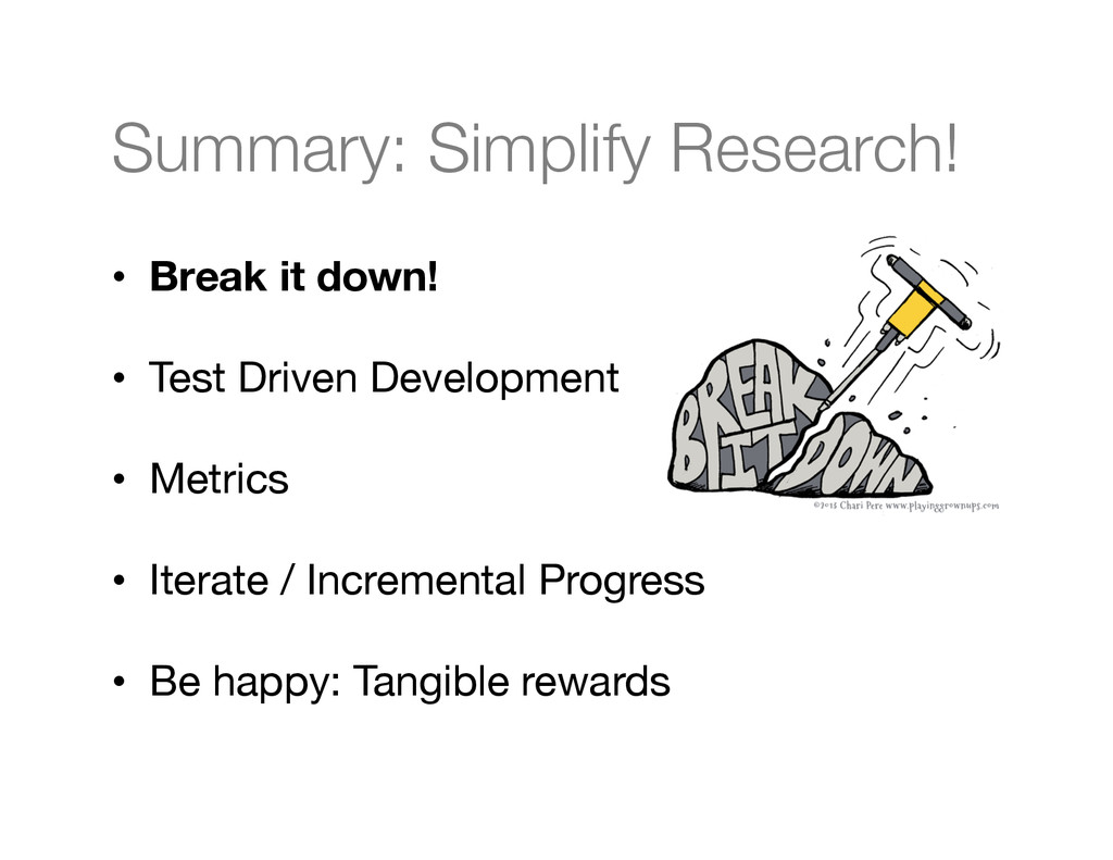 Summary: Simplify Research!