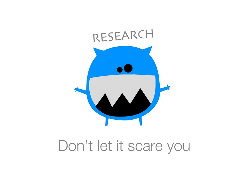 Don't let it scare you