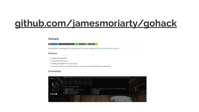 github.com/jamesmoriarty/gohack