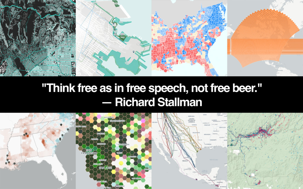 """""""Think free as in free speech, not free beer."""" ..."""
