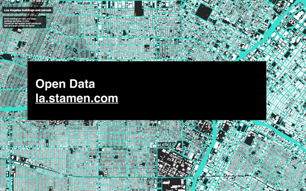 Open Data la.stamen.com