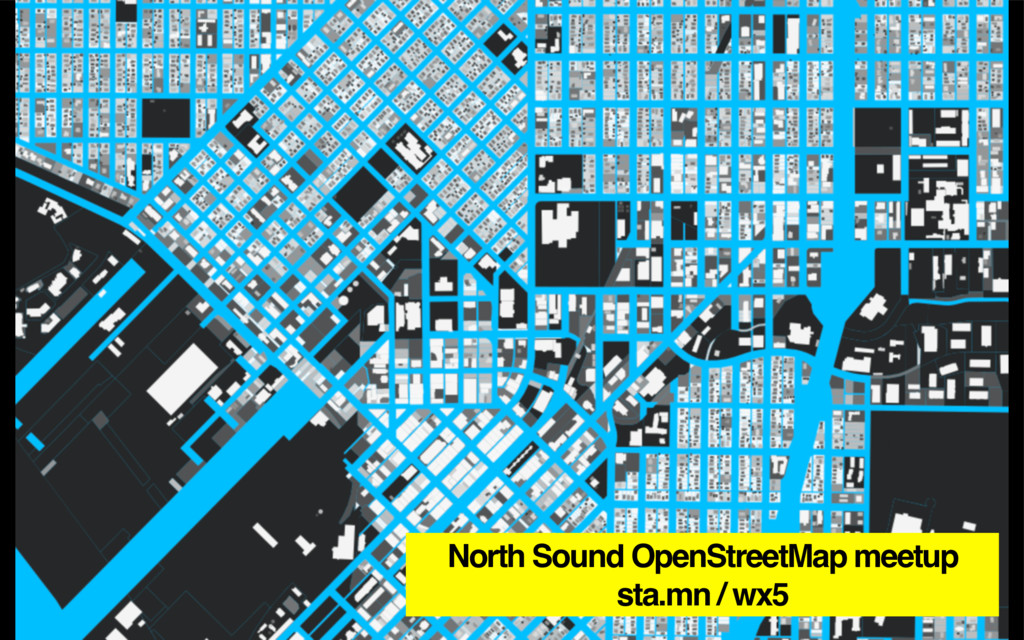 North Sound OpenStreetMap meetup sta.mn / wx5