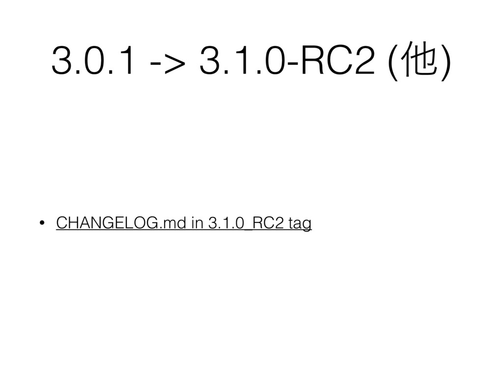 3.0.1 -> 3.1.0-RC2 (ଞ) • CHANGELOG.md in 3.1.0_...