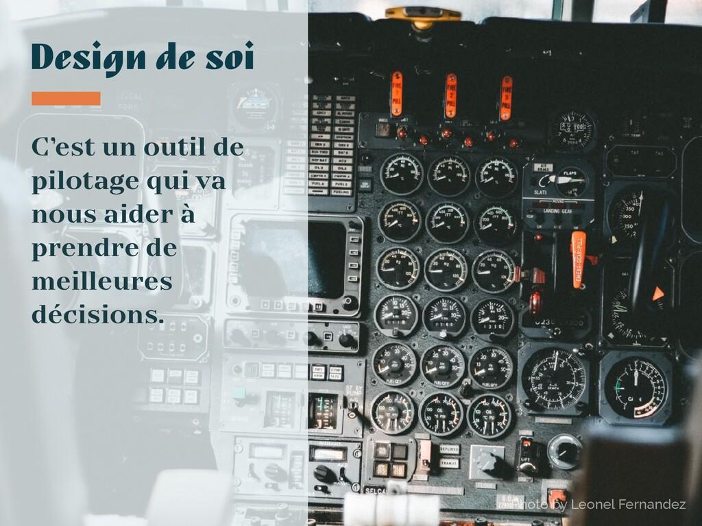 Photo by Leonel Fernandez Design de soi C'est u...