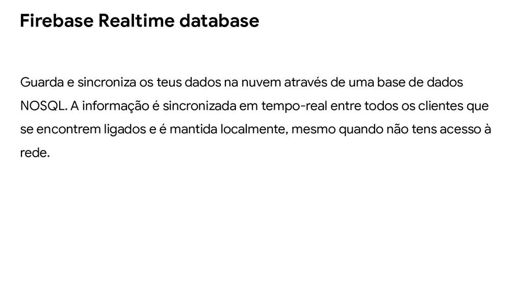 Guarda e sincroniza os teus dados na nuvem atra...