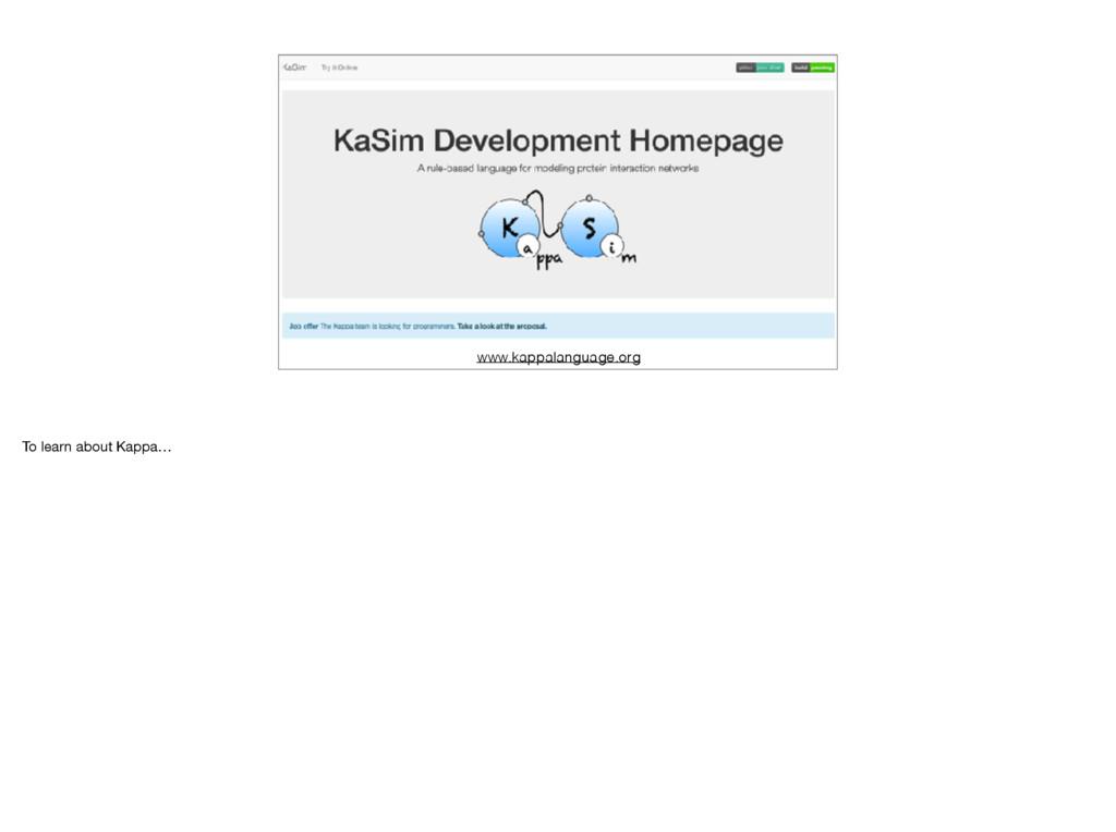 www.kappalanguage.org To learn about Kappa…