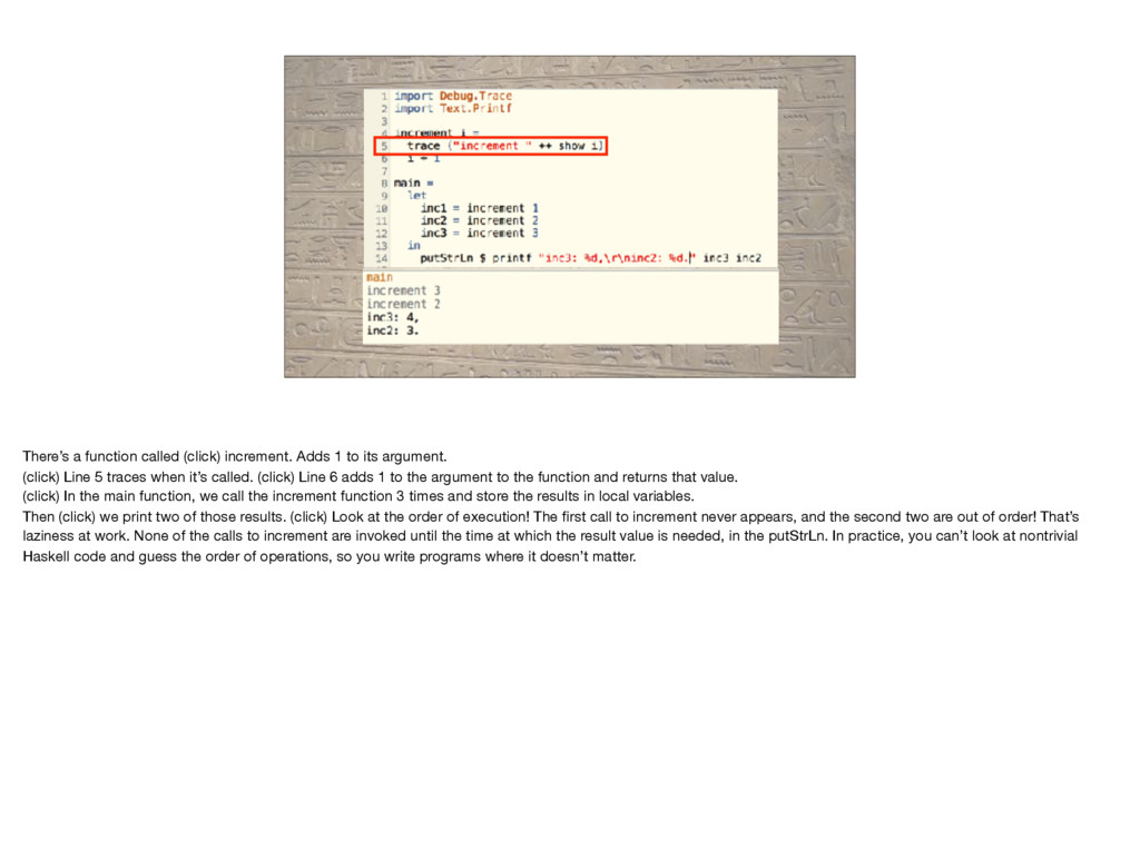 There's a function called (click) increment. Ad...