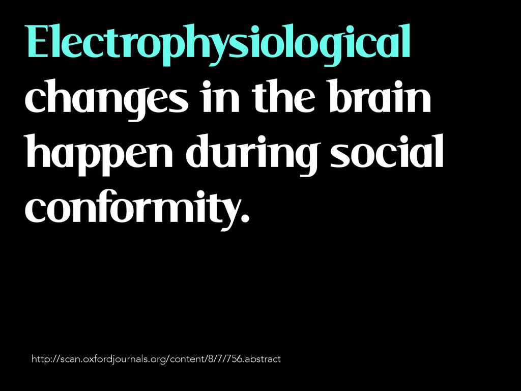 Electrophysiological changes in the brain happe...