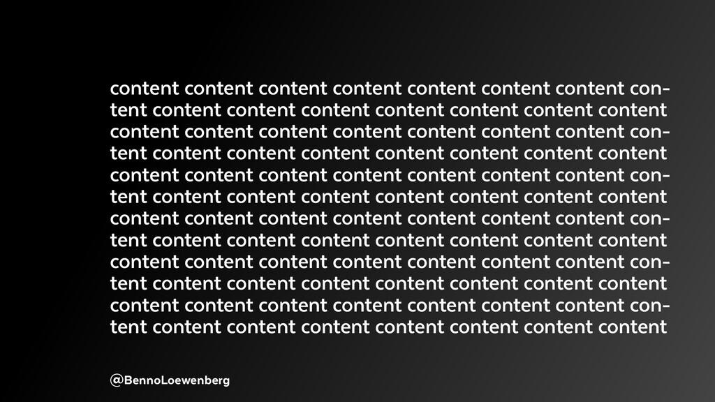@BennoLoewenberg content content content conten...