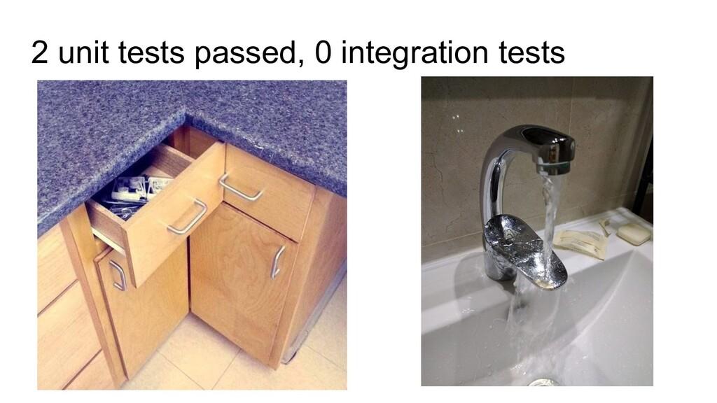 2 unit tests passed, 0 integration tests