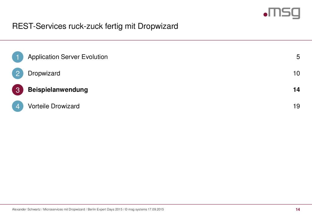 REST-Services ruck-zuck fertig mit Dropwizard 1...