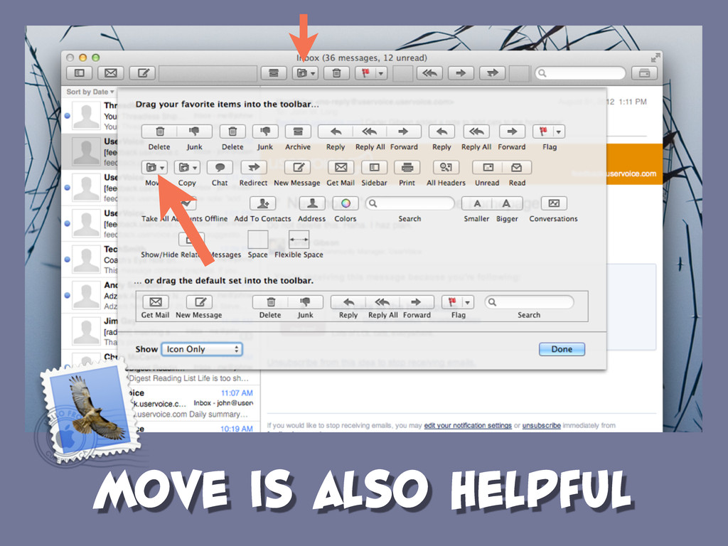 MOVE IS ALSO HELPFUL