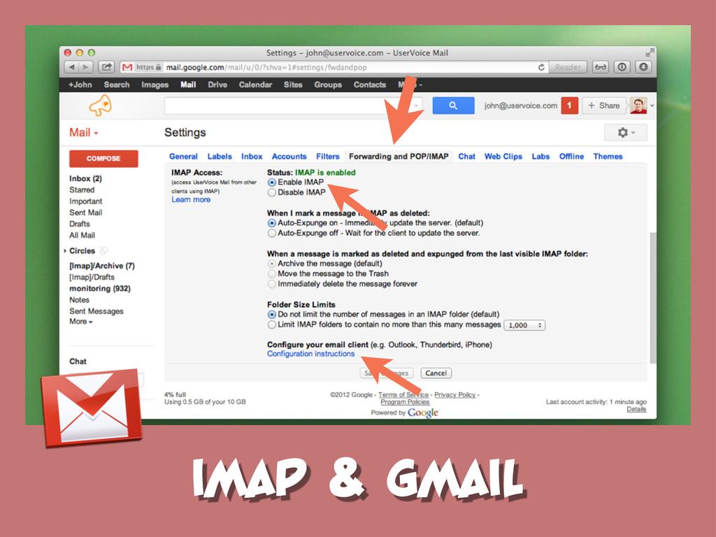 IMAP & GMAIL