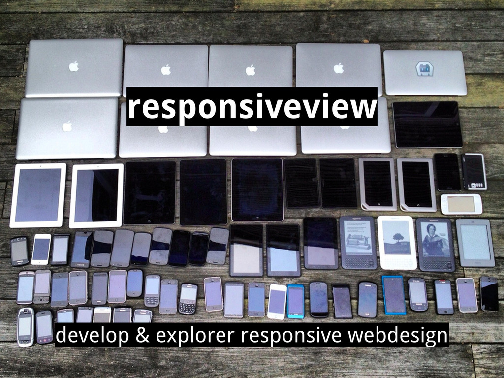 responsiveview develop & explorer responsive we...