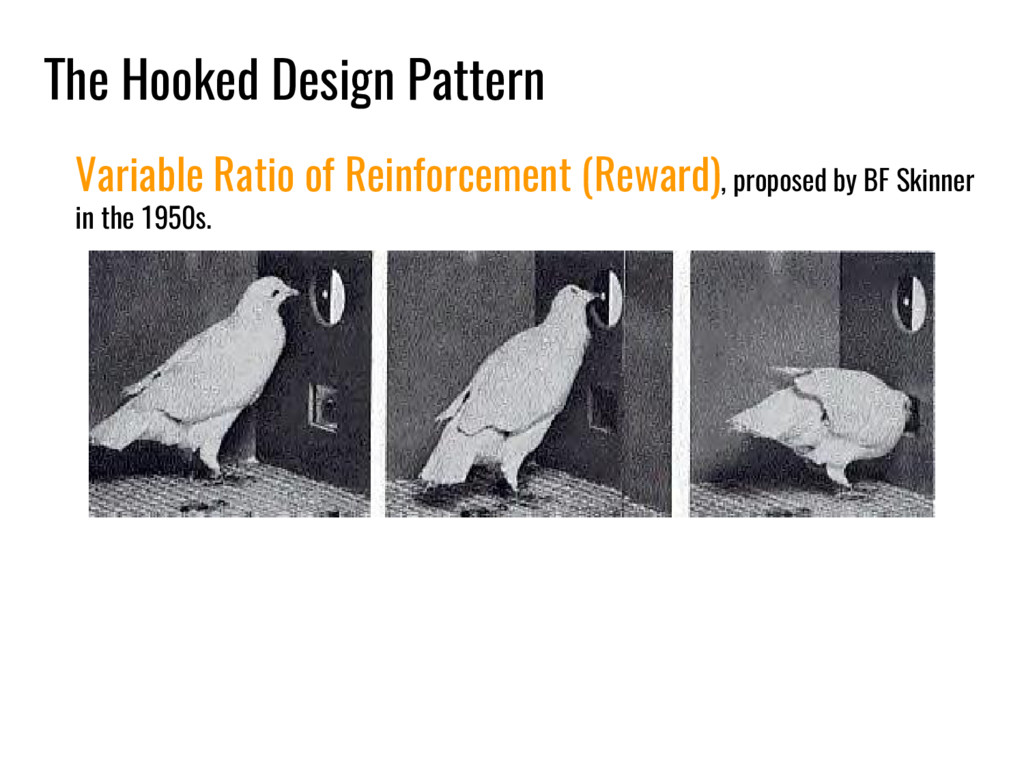 The Hooked Design Pattern Variable Ratio of Rei...