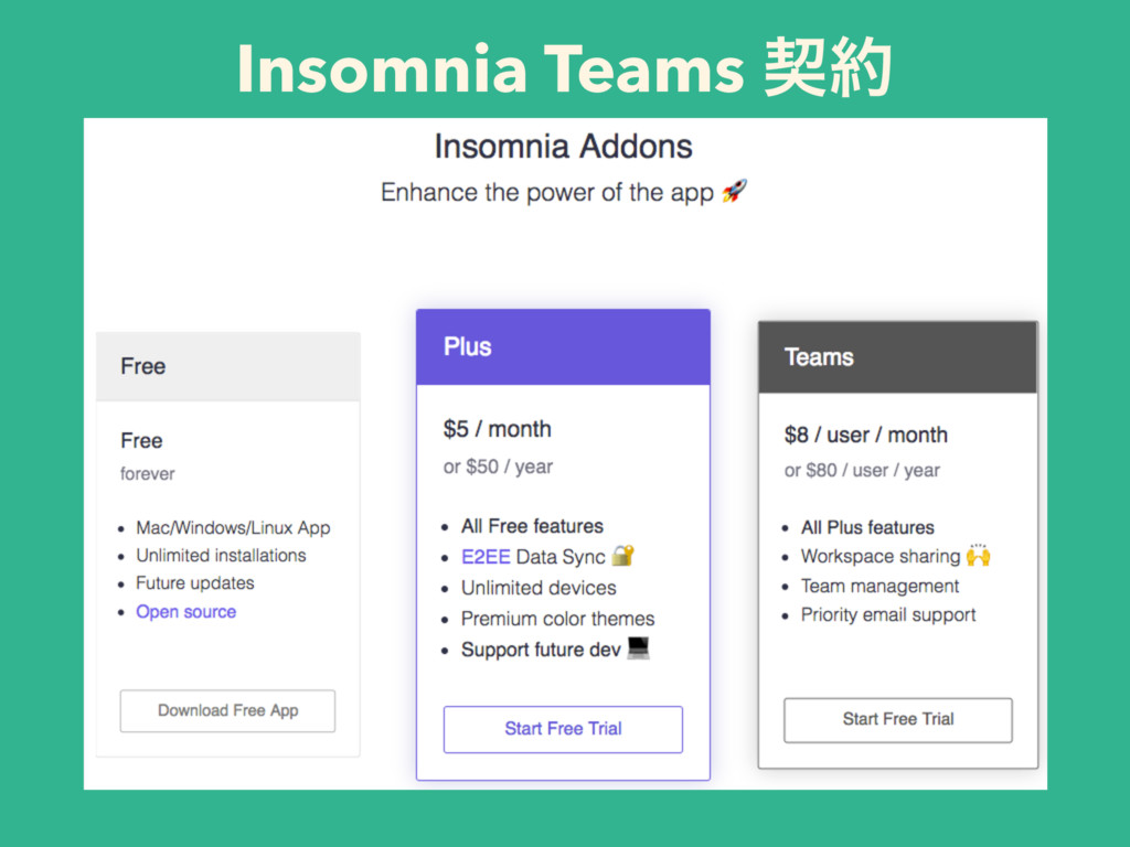 Insomnia Teams ܖ໿