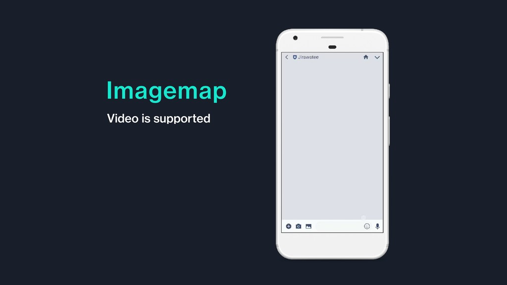 Imagemap Video is supported