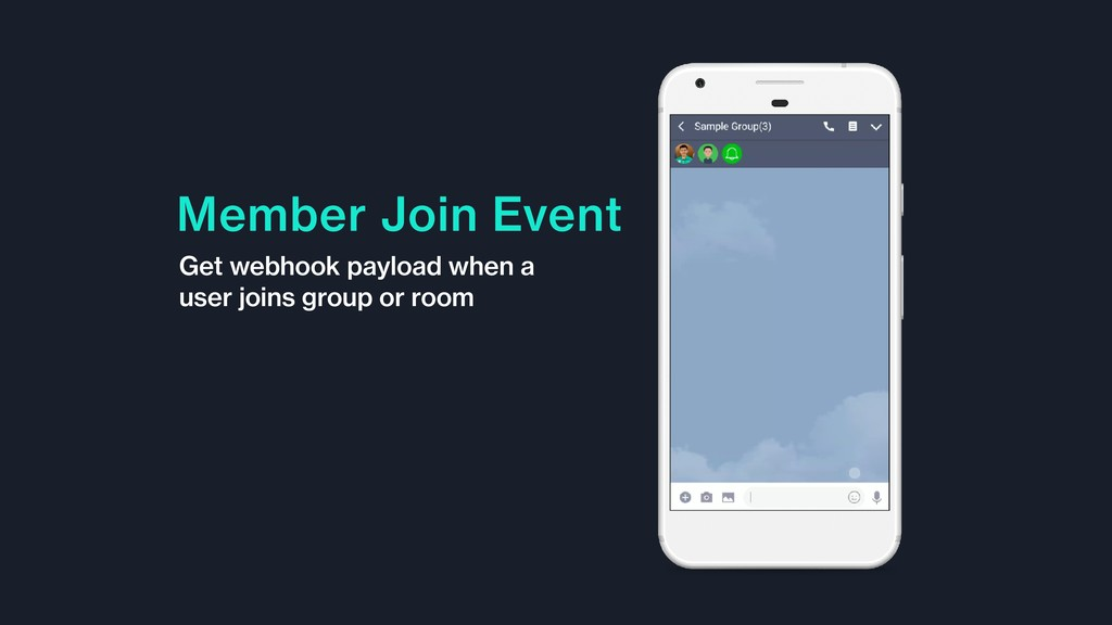 Member Join Event Get webhook payload when a us...