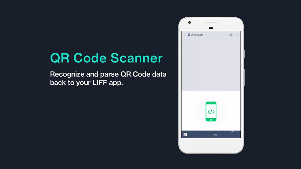 QR Code Scanner Recognize and parse QR Code dat...