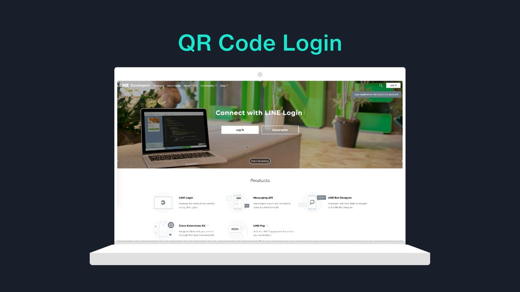 QR Code Login