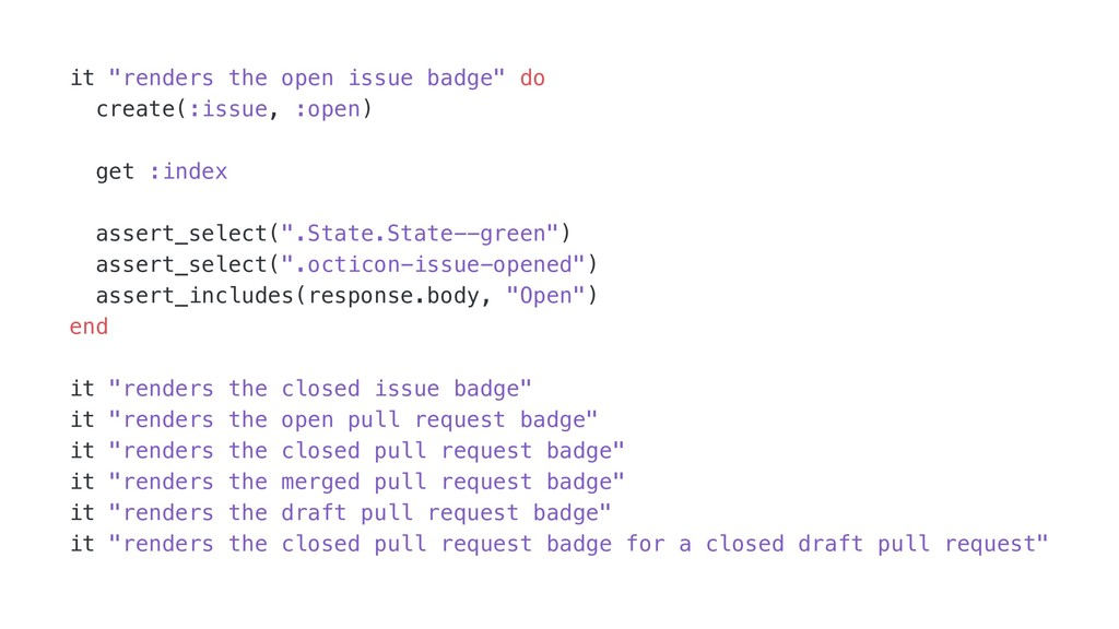 "it ""renders the open issue badge"" do create(:is..."