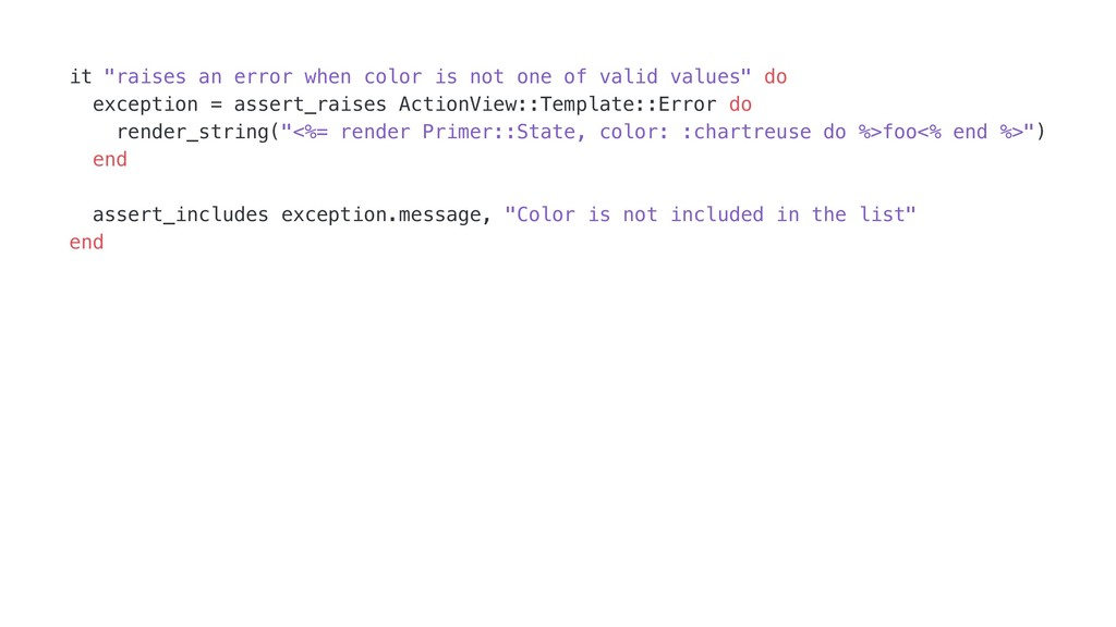 "it ""raises an error when color is not one of va..."