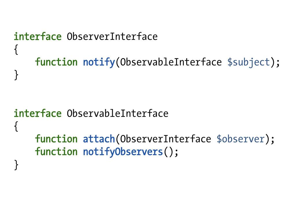 interface ObserverInterface { function notify(O...