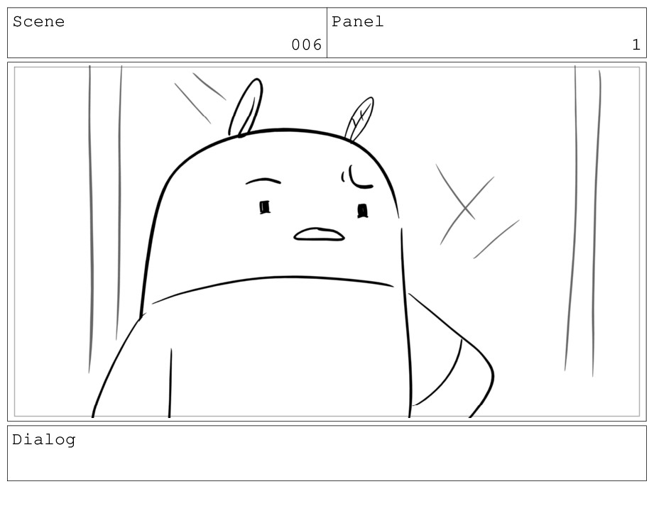 Scene 006 Panel 1 Dialog