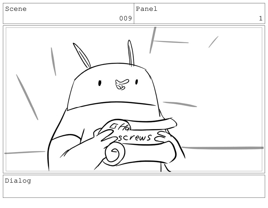 Scene 009 Panel 1 Dialog