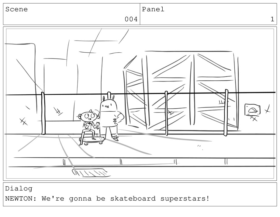 Scene 004 Panel 1 Dialog NEWTON: We're gonna be...