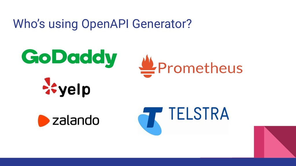 Who's using OpenAPI Generator?