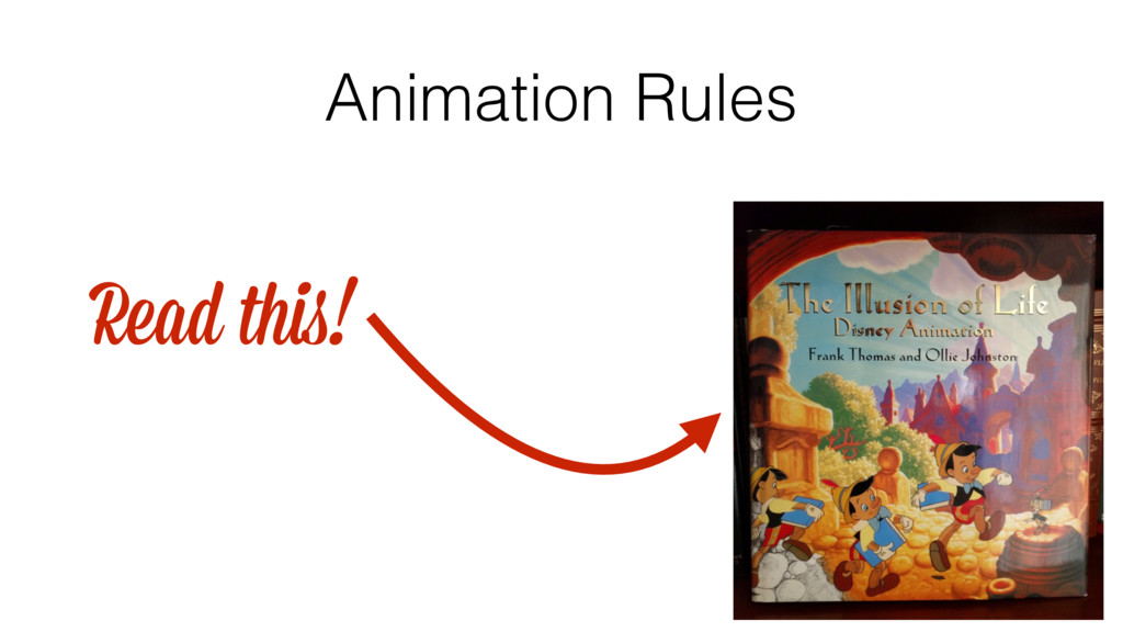 Animation Rules Read this!