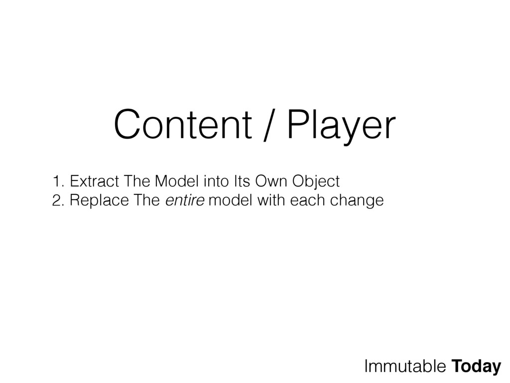Content / Player 1. Extract The Model into Its ...